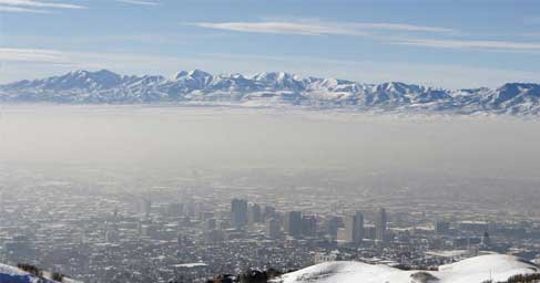 Salt Lake City pollution