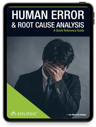 Human error & root cause eBook cover