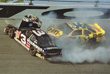 Dale Earnhardt Crash