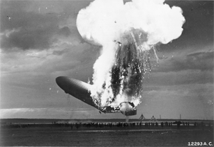 hindenburg explosion far away